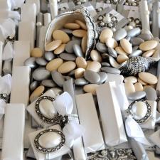Chocolate decoration for Wedding silver wedding